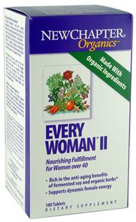 Every Woman II delivers 25 different nutritive and energizing probiotic vitamins and minerals as well as 20 stress-balancing and free-radical scavenging herbs cultured for maximum effectiveness.* Herbs like Chaste tree (Vitex agnus-castus) and hawthorn have been revered for enhancing a womans vitality, while other free-radical scavenging herbs like cinnamon, oregano, and rosemary provide key health benefits that support and sustain..