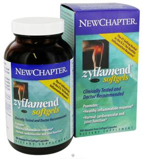 Zyflamend Capsules from New Chapter supports healthy inflammation response, 