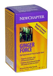 Gingerforce features the world's most potent full-spectrum ginger extract, at least 250 times the concentration of fresh ginger..