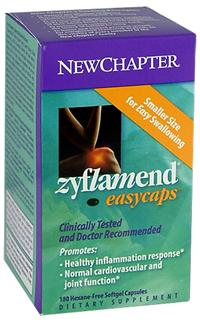 Zyflamend is the #1 Selling Herbal in the U.S. for Healthy Inflammation Response. Zyflamend Easy Caps are smaller for easy swallowing. Daily dose costs less than 65 cents per day..