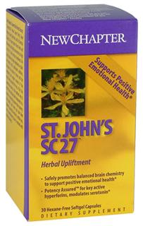 St. John's Wort is recognized for its ability to safely and naturally support positive emotional health..
