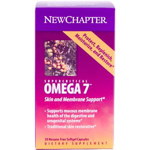 Omega 7 from Sea Buckthorn Protects, Restores, Replenish and Moisturize Aging Skin. On Sale at Seacoast Vitamins..