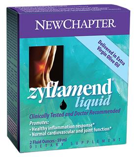 New Chapter's patented Zyflamend formulation represents a scientific breakthrough in promoting a healthy inflammation response..