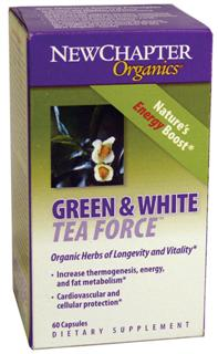 Green and white teas are known to contain the highest concentration of health-promoting antioxidants.* New Chapter has carefully selected the purest organically grown green and white tea leaves for the production of our tea extract..