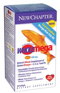 From the pristine, protected waters of Alaska directly to you, Wholemega is 100% wild-caught salmon oil; rigorously tested to ensure each capsule delivers Natures bioavailable, effective, and whole profile of beneficial fatty acids and nutrients..