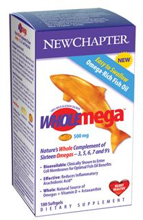 Wholemega is 100% Wild-caught Alaska Salmon Oil..