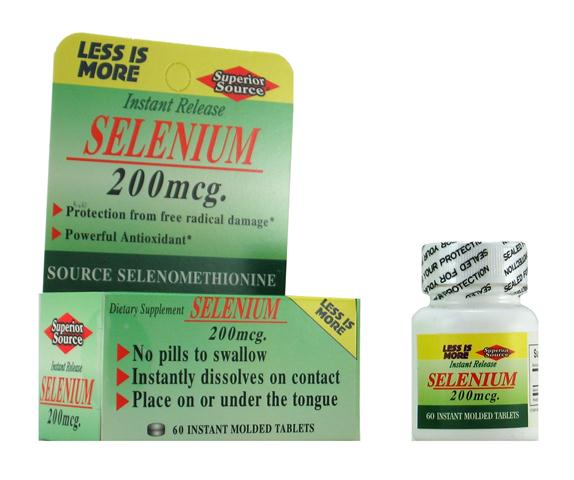 Selenium 200 mcg is a potent antioxidant and supports healthy thyroid gland..
