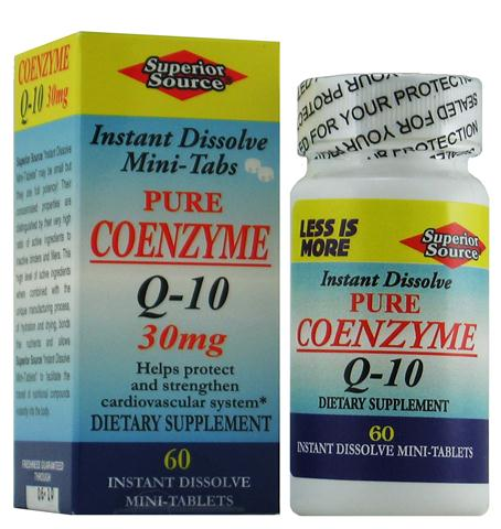 Pure CoEnzyme Q-10 30 mg support and protect your cardiovascular system, reduce the risk of heart disease with a sublingual instant dissolve micro tablet. No fillers or additives..