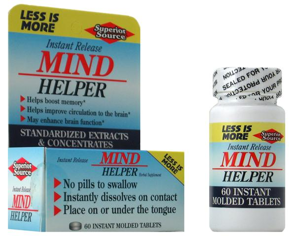 Mind Helper is an excellent blend of herbal extracts that improves circulation to the brain, stimulates memory and improves retention..