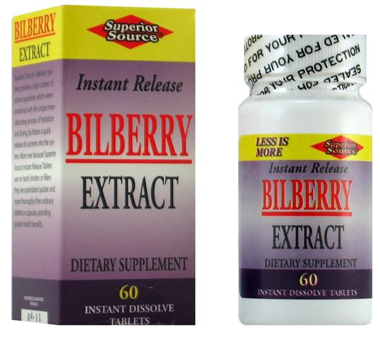 Bilberry contains over a dozen naturally occurring flavonoids to help maintain healthy eye function. Superior Sources sublingual Bilberry Extract is an excellent choice for preserving eye health..