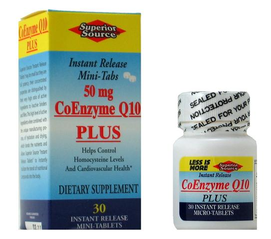 Brain and Cardiovascular health are supported by Coenzyme Q-10 Plus, containing Selenium for added antioxidant protection..