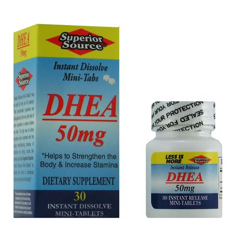 DHEA levels decline with age making Superior Source DHEA an excellent choice for supplementing this important hormone..