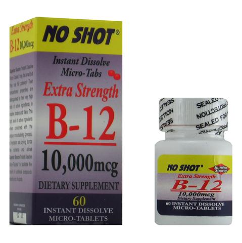 Vitamin B deficiency maybe the result of prescription medication usage, taking one Instant Dissolve tablet daily helps speed Vitamin B12 into the bloodstream and supports healthy mind and body..