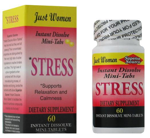 Clear your mind of stress, Superior Source blends natural herbal extracts and essential vitamins in order to relieve anxiety and tension, in order to restore calm and tranquility to your daily routine. .