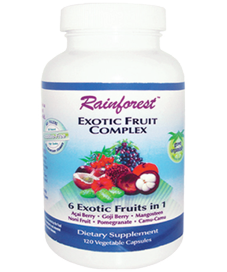 Acai Berry, Mangosteen, Pomegranate, Camu Camu, Goji Berry and Noni Fruit. Potent  exotic super fruit combination for Diet, Detox and Optimal Health. Buy Today at Seacoast.com!.