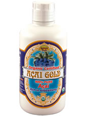 Organic Acai Gold 100% Pure Dynamic Health (16 oz.) is a rich source of essential nutrients and high value antioxidants..