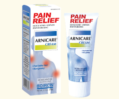 Arnicare Arnica Cream (2.5 oz.) Boiron use for healing of sore over worked muscles, bruises and other minor traumas.
