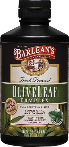 More than an extract and better than dried and processed pills, Barleans Olive Leaf Complex contains a broad spectrum of beneficial olive leaf actives resulting in a powerful synergy for your vibrant health and energy..