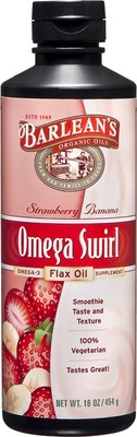 Omega Swirl looks and tastes like a fruit smoothie, yet provides optimal levels 