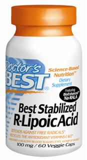 Best Stabilized R-Lipoic Acid featuring BioEnhanced Na-RALA  can be useful for enhanced cardiovascular health, in support of antioxidant activity and maintaining healthy glucose metabolism functions. R-Lipoic Acid also assists a variety of systems, such as, helping to support healthy arterial function, helping to maintain healthy weight as part of a healthy diet, and supporting healthy lipid metabolism. The recently discovered potential to help maintain healthy weight in conjunction with wise dietary and lifestyle choices may be another mechanism by which it supports cardiovascular health..
