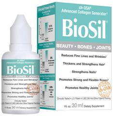 Clinically Tested Breakthrough in Collagen Generation, Biosil Advanced Collagen Generator.