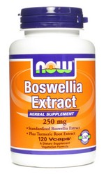 NOW Boswellia Extract is standardized to contain min. 65% Boswellic Acids, the active constituents of the herb Boswellia serrata. Boswellia Extract is naturally produced from the gum resins of the Boswellia serrata tree. Turmeric Root has also been added for its synergistic and complementary effects..