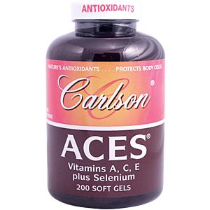 ACES provides four natural antioxidants to help protect the body form the harmful effects of free radicals.Vitamin A, Vitamin C, Vitamin E and Selenium..