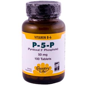 P-5-P, Pyridoxal-5'- Phosphate, does not require any conversion in the liver, and may be a preferable form of this valuable nutrient. B6 is an enzyme catalyst in many body functions including energy metabolism, neurotransmitter functions, and muscle growth and repair..