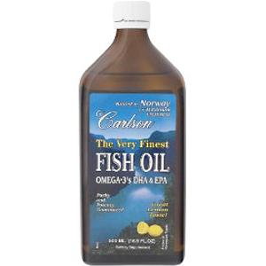 The Very Finest Fish Oil provides 1600 mg of Omega-3's per Lemon Flavored Teaspoonful. To Preserve and Guarantee Maximum Freshness Each Dark Glass Bottle is Sealed in Nitrogen. Potency, Freshness and Great Taste Guaranteed by Carlson Labs..