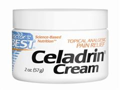 When applied topically, Celadrin Cream is well-absorbed and can act locally to help relieve pain, reduce inflammation and increase the range of motion of joints..