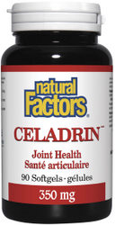 Celadrin from Natural Factors counters inflammation, providing relief from arthritis pain..