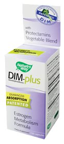 Nature's Way DIM Plus is an enhanced absorption patented estrogen metabolism formula..