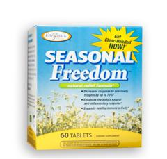 In clinical studies, Seasonal Freedom was found to decrease the body's response to sensitivity triggers by up to 70 percent. Stay Clear Headed and Drug Free..