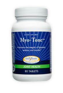 Myo-Tone provides vitamins, minerals, and other nutrients that help support healthy collagen function. Joints rely on healthy collagen to provide structure for tendons, cartilage and connective tissues. Myo-one is absolutely the best product to maintain the integrity of muscles, tendons, and ligaments..