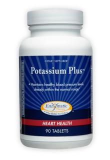Potassium maintains healthy blood pressure levels already within the normal range. Get your potassium naturally. This supplement provides potassium sourced from orange, banana, and sugar cane juices. Potassium maintains healthy blood pressure levels already within the normal range..