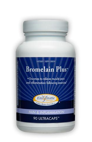 Bromelain is a natural enzyme derived from pineapple that will relieve muscle pain after strenous excersize..