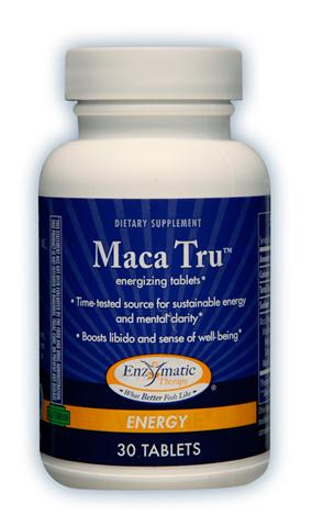 The unique compounds in Maca Tru support energy, stamina and sexual function..