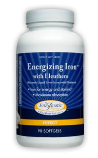 Maximum absorption iron and nutrient formula for energy and stamina.