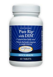Formerly called Indoplex, the hormone balancing benefits of Pure Rip, featuring DIM, in strength training and bodybuilding programs provide ultimate health support for increased lean muscle and improved physical conditioning..