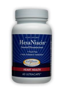 Used by Europeans for over 30 years, HexaNiacin is a superior, non-flushing form of niacin that aids in cholesterol metabolism.