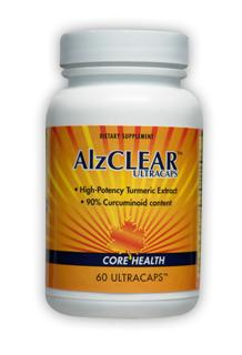 High-potency turmeric extract with 90% curcuminoid content, Alzclear by Enzymatic Therapy, benefits a variety of ailments often associated with aging, such as, arthritis pain, alzheimer's, gastrointestinal cancer, inflammation of join and connective tissues..