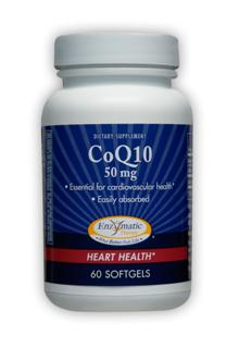 Essential component for cardiovascular health, CoQ10 50 mg softgels are easily digested and absorbed..