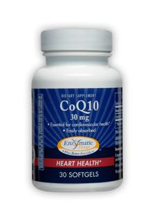 Essential component for cardiovascular health, CoQ10 30 mg softgels are easily digested and absorbed..