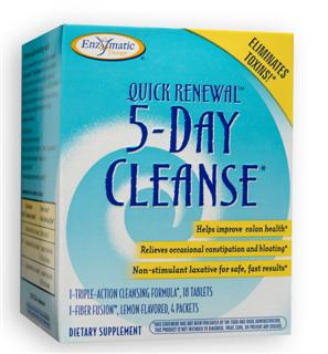 Quick Renewal 5-Day Cleanse features a soothing herbal blend for a safe, gentle and thorough cleanse. Non-stimulant laxative provides fast results for eliminating harmful toxins and alleviating digestive stress..