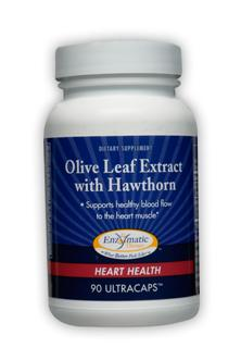 Enzymatic Therapy combines all of the unique advantages of olive leaf extract with a standardized extract of hawthorn berry. Together, they help maintain healthy blood pressure levels already within the normal range and healthy blood flow to the heart..