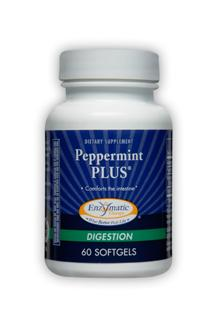 Peppermint Plus enteric-coated softgels resist digestion in the stomach, and allow the formula to move to the intestines, where it's released for optimum benefit.The natural herbal combination of peppermint, rosemary, and thyme extracts soothe the intestine with antispasmodic effects..
