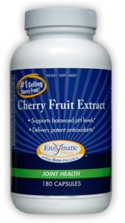 Concentrated Cherry Fruit Extract effectively supports balanced PH level, healthy joints and increased antioxidant activity..