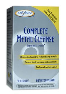 Complete Metal Cleanse employs purified Humifulvate, which has been clinically shown to effectively bind to heavy metals including lead, mercury and cadmium, allowing the body to expel them more easily..