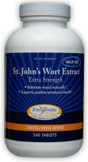 Extra Strength St. John's Wort extract provides support in relieving anxiety, reducing stress and promoting relaxation...