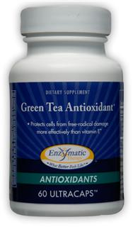 Antioxidant Green Tea is more powerful than vitamin E in protecting cells from free-radical damage. The National Cancer Institute and the National Institutes of Health have studied and reported on green tea's advantages. Standardized Green Tea Extract offers a higher level of powerful antioxidant compounds than average green tea beverages..